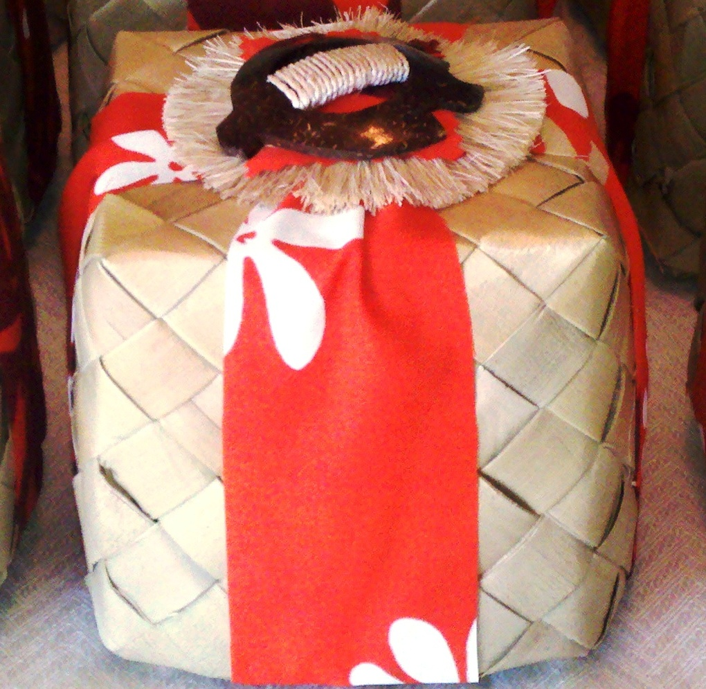*New Item!*  Menehune Cookie Basket