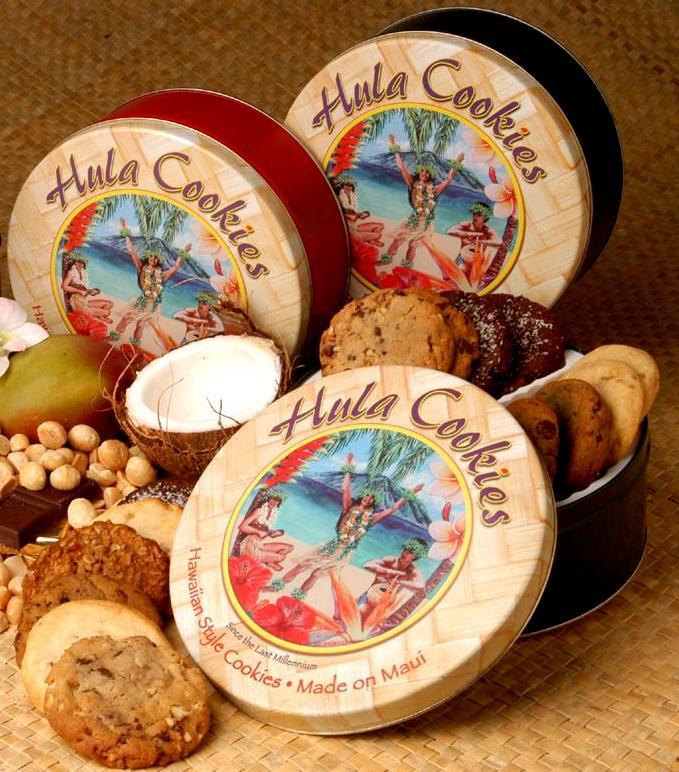 Hula Cookies - Large Tin