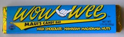 Milk Chocolate & Hawaiian Macadamia Nut Candy Bar