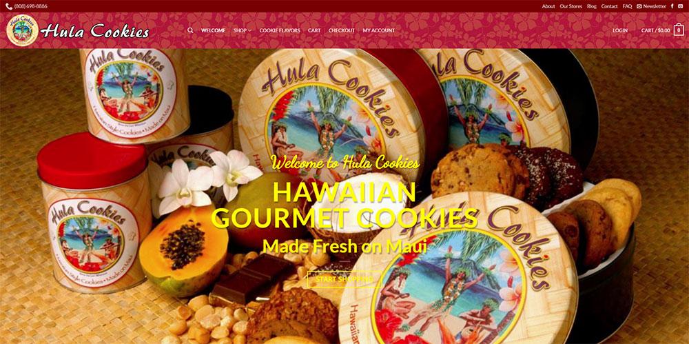 Hula Cookies Website